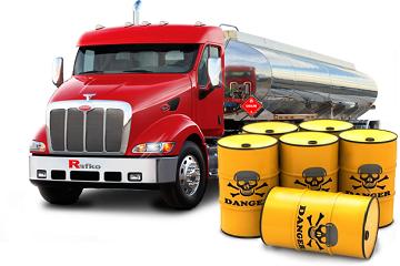Перевозка опасных грузов (ДОПОГ) автотранспортом