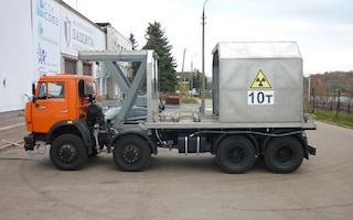 Перевозка радиоактивных материалов класса
